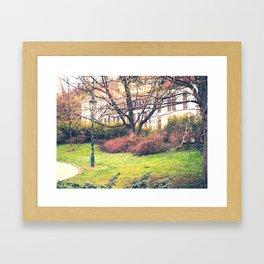 In Park Framed Art Print