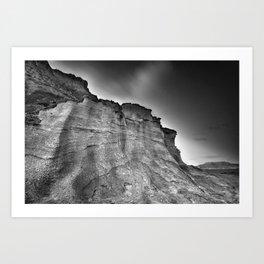 Volcanic world Art Print