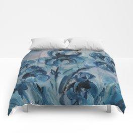 Irises Comforters