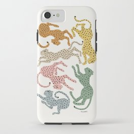 Rainbow Cheetah iPhone Case