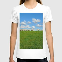 Landscape with sheeps T-shirt