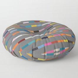 Gaunt Grey Floor Pillow