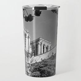 Notre Dame in Spingtime Travel Mug