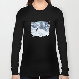 Dropping The Dream Forest Long Sleeve T-shirt