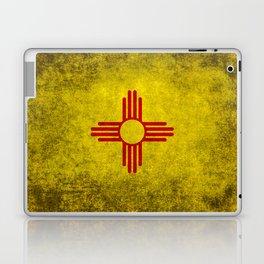 Flag of New Mexico - vintage retro style Laptop & iPad Skin