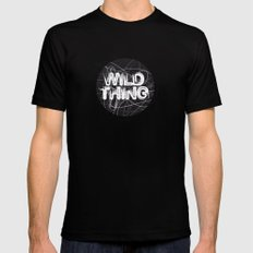 Wild Thing Black MEDIUM Mens Fitted Tee