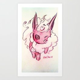 Keep calm and FlareON! Art Print