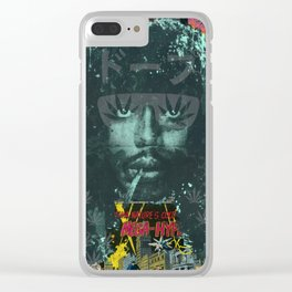 Cold Blooded Clear iPhone Case