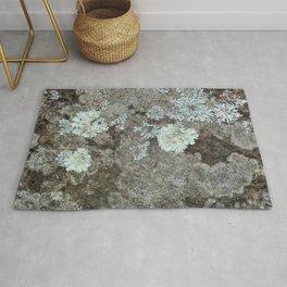 Lichen on granite Rug