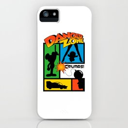 Wherever There Is Danger iPhone Case