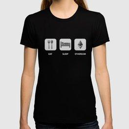 Ethereum Eat Sleep Repeat T-shirt