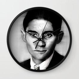 Franz Kafka Wall Clock