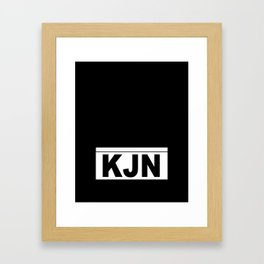KJN Framed Art Print