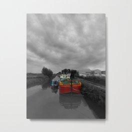 Sequana | Beverley Canal Metal Print