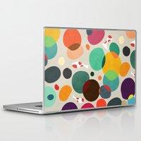 koi Laptop & iPad Skins featuring Lotus in koi pond by Picomodi