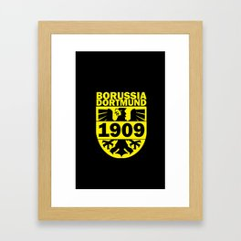 Slogan Dortmund Framed Art Print