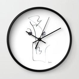 Demeter Moji d15 3-3 w Wall Clock