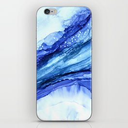 Cracked Blue Marble iPhone Skin