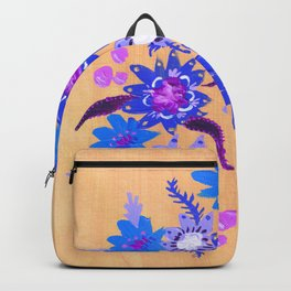 Butter Blue Blooms Backpack
