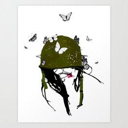 Fight the Good Fight Art Print