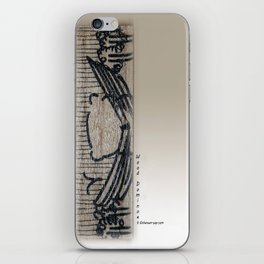 Wood Dominoes - #7 iPhone Skin