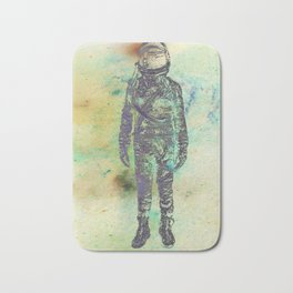 Silver Spaceman Inverted Bath Mat