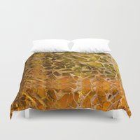 glass Duvet Covers featuring Glass by Veronika