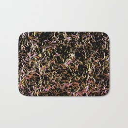 black wave Bath Mat