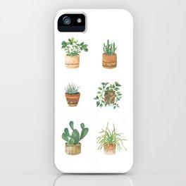 House Plants iPhone Case