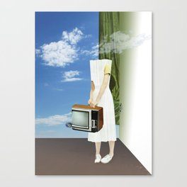 atmosphere · feeling headless Canvas Print