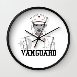 Black and White VG Wall Clock