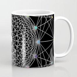 Geometric Circle Black/White/Colour Coffee Mug
