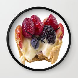 Take A Bite Of A French Tart Wall Clock