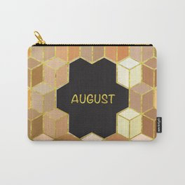 Cubes Of August Carry-All Pouch