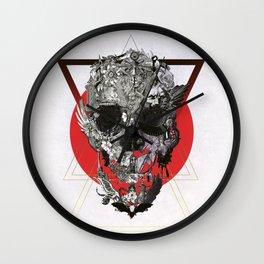 Skull Tale Wall Clock
