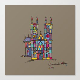 westminister Canvas Print