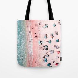 Ocean Print, Beach Print, Wall Decor, Aerial Beach Print, Beach Photography, Bondi Beach Print Tote Bag