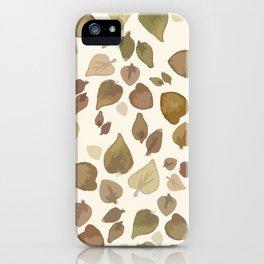 Autumn Leaves iPhone Case