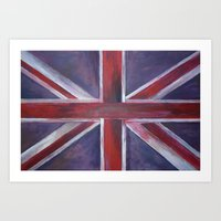 british Art Prints featuring British by Magdalena Hristova