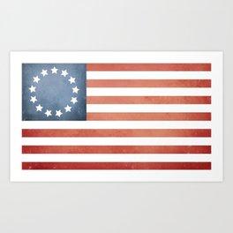 13 Star Flag Art Print