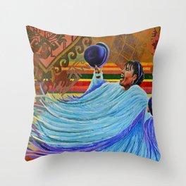 Colorida Latinoamércia Throw Pillow