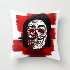Salvador POSTportrait Throw Pillow