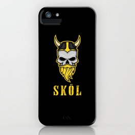 Skol Shirt Nordic Scandinavian Warrior Viking iPhone Case