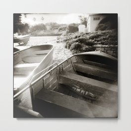 { afternoon boats } Metal Print