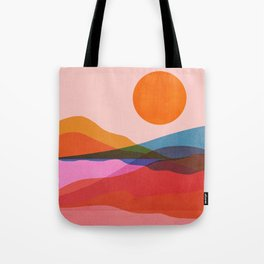Abstraction_OCEAN_Beach_Minimalism_001 Tote Bag