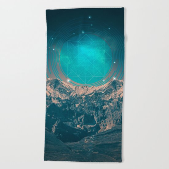 Made For Another World Beach Towel