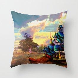 Traveller: Snail Trail  Throw Pillow