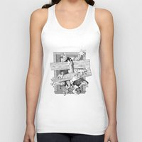 zombies Tank Tops featuring zombies by John MacDougall