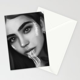soul leaving Stationery Cards