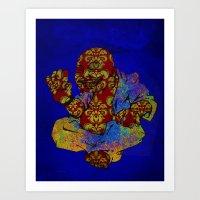 buddah Art Prints featuring Buddah  by Darkhorse